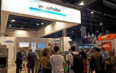 El stand de Winterhalter en Hostelco supera las expectativas y sorprende por sus innovaciones