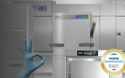 Seguridad higiénica en lavavajillas industriales